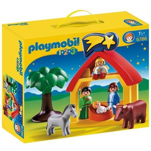 Playmobil 123 Kerststal 6786