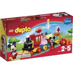 Lego Duplo Duplo Micky Mouse Clubhouse Micky en Minnie Verjaardag Optocht 10597