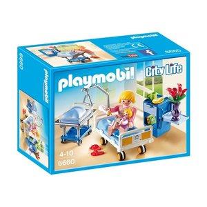 Playmobil City Life Kraamkamer met Babybed 6660