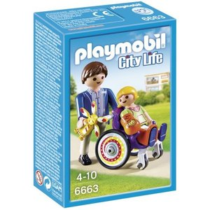 Playmobil City Life Kind in Rolstoel 6663