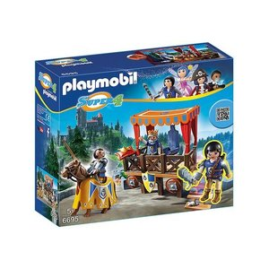 Playmobil Super 4 Koningstribune met Alex 6695