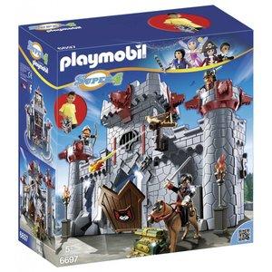 Playmobil Super 4 Meeneemburcht van de Zwarte Baron 6697