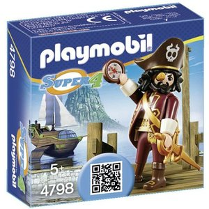 Playmobil Super 4 Haaibaard 4798