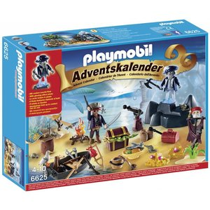 Playmobil Pirates Adventskalender Pirateneiland 6625