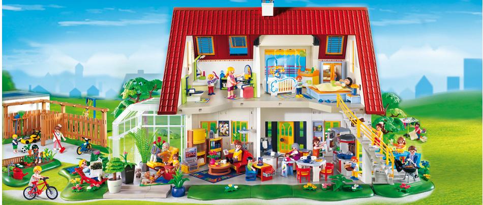 Emejing playmobil modernes villa images for Modernes haus playmobil
