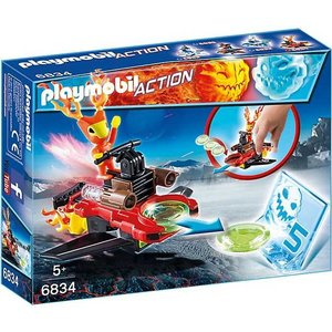 Playmobil Action Sparky met Disc Shooter 6834
