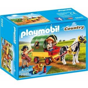 Playmobil Country Picknickwagen met Pony 6948
