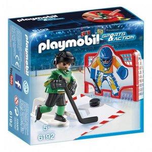 Playmobil Sport Action Ijshockey Doelschieten 6192