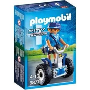 Playmobil City Action Politieagente met Balanceracer 6877