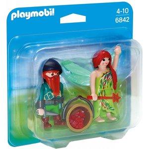 Playmobil Duopack Elf en Dwerg 6842