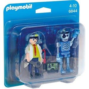 Playmobil Duopack Uitvinder en Robot 6844