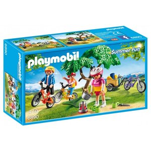 Playmobil Summer Fun Mountainbike Tocht met Bolderwagen 6890