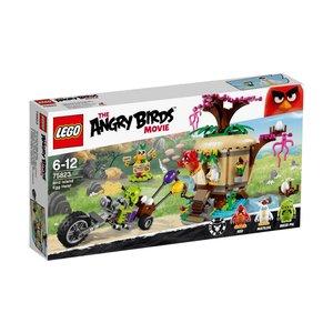 Lego Angry Birds Egg Theft from Birds Island 75823