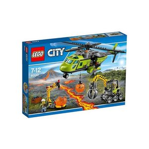 Lego City Vulkaan Bevoorradings Helikopter 60123