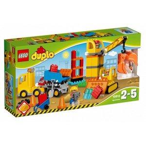 Lego Duplo Bouw en Transport Grote Bouwplaats 10813