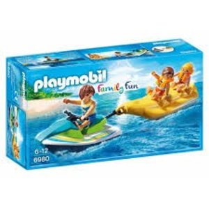 Playmobil Family Fun Jetski met Bananenboot 6980