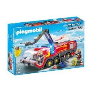 Playmobil City Action Luchthaven Brandweer met Licht en Geluid 5337