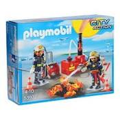 Playmobil Playmobil City Action Brandweermannen met Blusmateriaal 5397