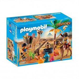 Playmobil History Grafrovers met Egyptische Schatten 5387