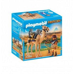 Playmobil History Egyptische Krijger met Dromedaris 5389