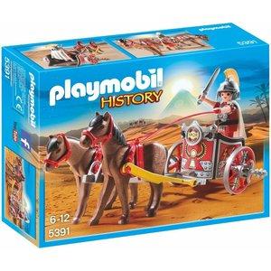 Playmobil History Romeinse Strijdwagen met Tribuun 5391