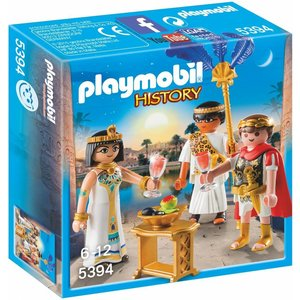 Playmobil History Ceasar en Cleopatra 5394
