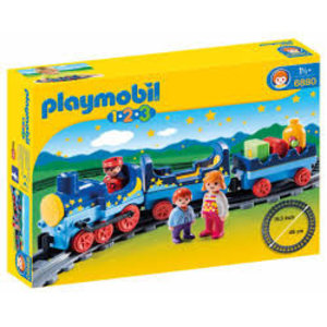 Playmobil 1 2 3 Sterrentrein met Passagiers 6880