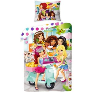 Lego Friends Scooter Dekbedovertrek 700169