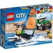 Lego Lego City Pick-Up 4X4 met Catamaran 60149