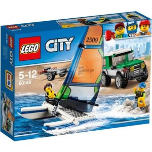 Lego City Pick-Up 4X4 met Catamaran 60149