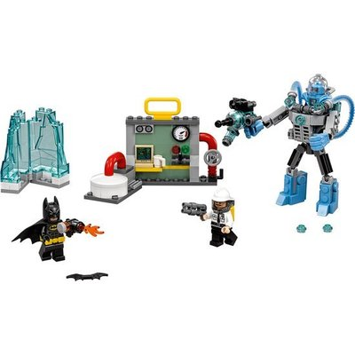 Lego Lego Batman the Movie Mr. Freeze Ijsaanval 70901