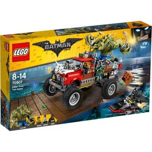 Lego Batman the Movie Killer Croc Monstertruck 70907