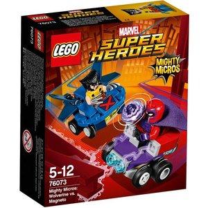 Lego Super Heroes Wolverin vs Magneto 76073