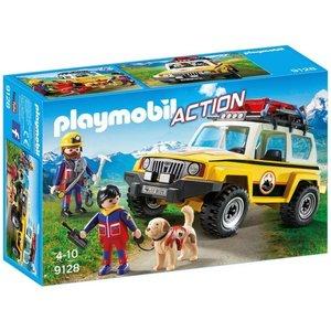Playmobil Action Reddingswerkers met Terreinwagen 9128