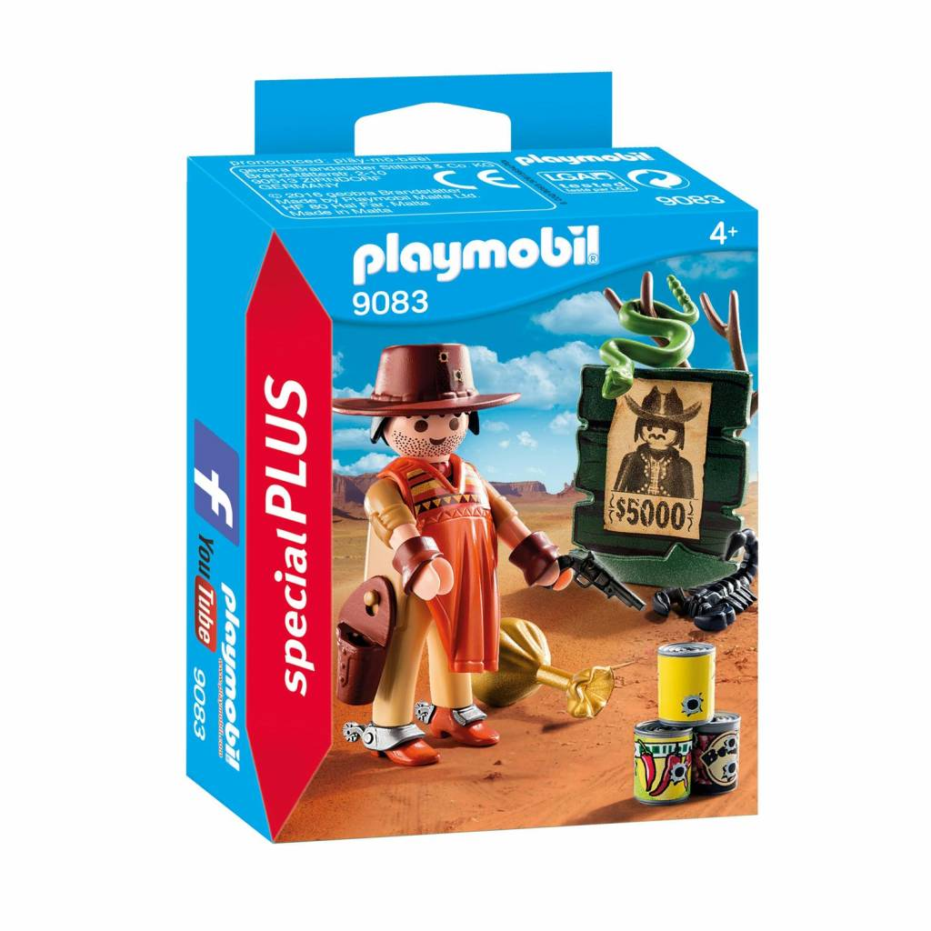 playmobil playmobil special plus wilde westen revolverheld. Black Bedroom Furniture Sets. Home Design Ideas