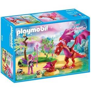 Playmobil Fairies Drakenhoeder met Draken 9134