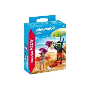 Playmobil Special Plus Kinderen met Zandkasteel 9085