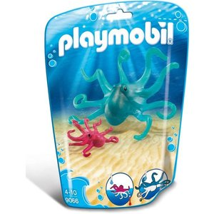 Playmobil Family Fun Inktvis met Jong 9066