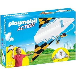 Playmobil Action Zweefvlieger Blauw 9206