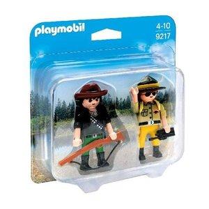 Playmobil Duopack Boswachter en Stroper 9217