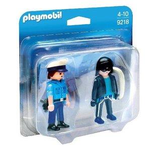 Playmobil Duopack Politieagent en Dief 9218