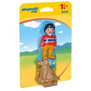 Playmobil 123 Man met Hond 9256