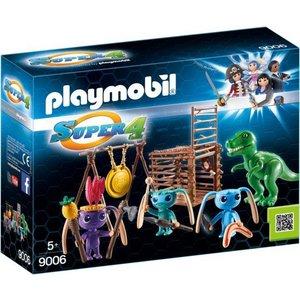 Playmobil Super 4 Alien krijgers met T-Rex 9006