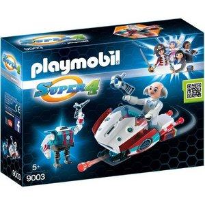 Playmobil Super 4 Skyjet met Dr. X en Robot 9003