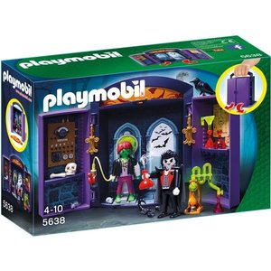 Playmobil Knights Speelbox Spookhuis 5638
