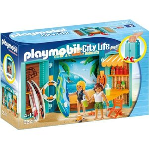 Playmobil Family Fun Speelbox Surfshop 5641