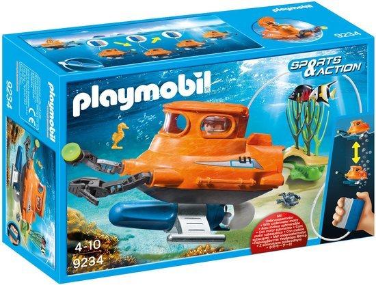 Playmobil playmobil sports action duikboot met for Piscine playmobil 5433