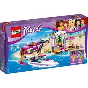 Lego Friends Andrea's Speedboot Transport 41316
