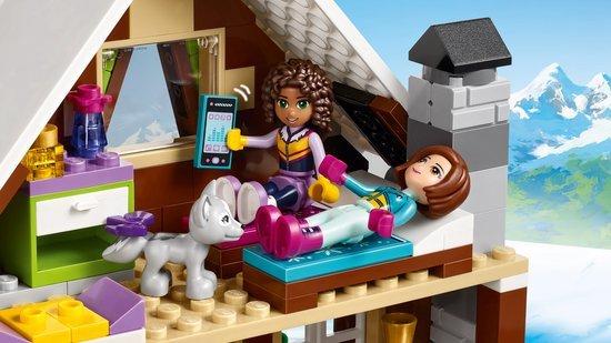 Lego lego friends wintersport chalet abctoys