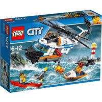 Lego City Kustwacht Zware Reddingshelikopter 60166